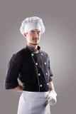 Cozinheiro, vista dianteira rendição 3D e foto De alta resolução Imagem de Stock