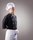 Cozinheiro, vista dianteira rendição 3D e foto De alta resolução Imagens de Stock