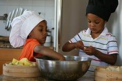 Cozinheiros chefe pequenos Imagem de Stock