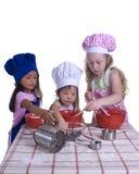 Cozinheiros chefe pequenos fotos de stock royalty free