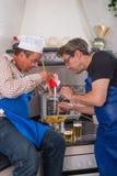 Cozinheiros demais Fotografia de Stock