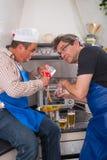Cozinheiros demais Imagem de Stock