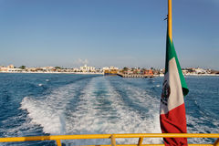 cozumel海岛墨西哥尤加坦 免版税库存图片