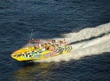 cozumel Мексика едет быстроходный катер Стоковая Фотография