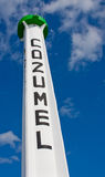 Cozumel Beacon Stock Photos