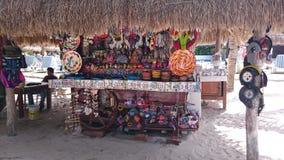 Cozumel försäljare Arkivfoton