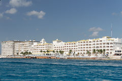Cozumel Hotels Mexico Royalty Free Stock Image