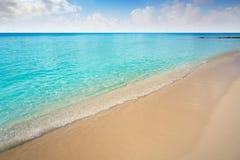 Cozumel island Palancar beach Riviera Maya. Cozumel island Playa Palancar beach in Riviera Maya of Mayan Mexico stock photography