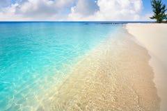 Cozumel island Palancar beach Riviera Maya. Cozumel island Playa Palancar beach in Riviera Maya of Mayan Mexico royalty free stock photo