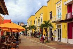 Cozumel ` kolory zdjęcie stock
