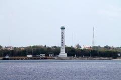 Cozumel lighthouse Stock Photo