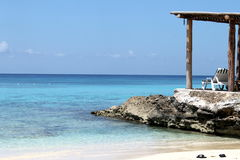 Cozumel Mexico. Beach and clear blue water at Cozumel, Mexico Royalty Free Stock Images