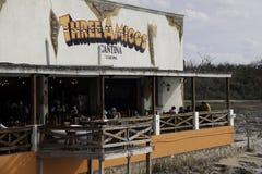 Cozumel Mexico - de Waterkant Cantina van Drie Amigo's Stock Foto's