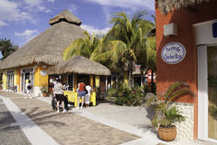 Cozumel Mexico - Shopping Mecca Stock Photo