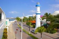 Cozumel Mexico som är karibisk Royaltyfria Bilder