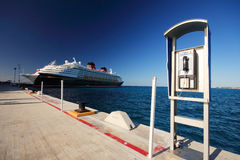Cozumel pier Royalty Free Stock Image