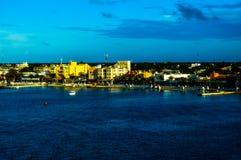 Cozumel, una vista del mare Fotografie Stock