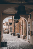 Cozy alley Royalty Free Stock Image