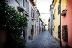 Cozy Alley Stock Images