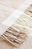 Cozy alpaca wool blanket Royalty Free Stock Photography