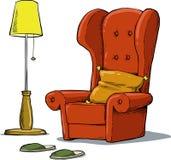 Cozy armchair Stock Photos