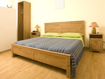 Cozy bedroom Royalty Free Stock Image
