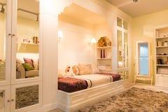 Cozy bedroom Stock Photos