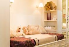 Cozy bedroom Stock Photography