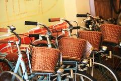 Cozy Bike Rental Stock Images