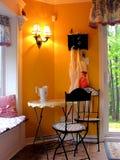 Cozy breakfast nook Stock Images