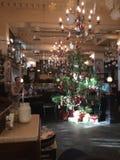 Cozy cafe Lviv stock photo