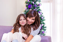 Cozy Christmas eve Royalty Free Stock Photography