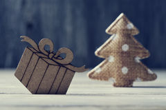 Cozy christmas ornaments Stock Images