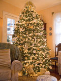 Cozy Christmas Tree Royalty Free Stock Images