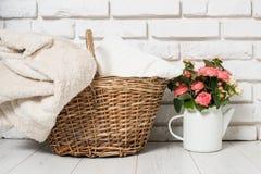Cozy country home decor Stock Photos