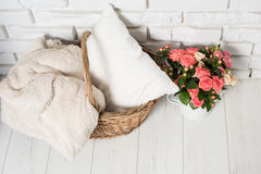 Cozy country home decor Stock Photography
