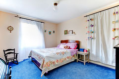 Cozy decorated young adult room Royalty Free Stock Photography