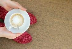 Cozy delicious coffee Stock Photography