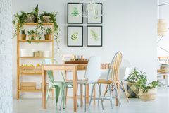 Cozy dining room Royalty Free Stock Photo