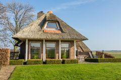 Cozy Dutch cottage Stock Photography