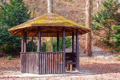 Cozy gazebo Royalty Free Stock Photography