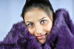 Cozy girl Royalty Free Stock Photos