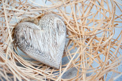 Cozy heart Stock Photography