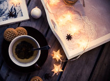 Cozy holidays at home Stock Photos