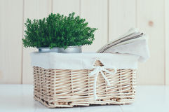 Cozy home decor Royalty Free Stock Images