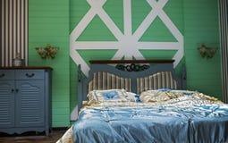 Cozy home   Master Bedroom Stock Photo