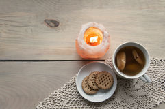 Cozy home still life. Stock Images