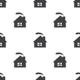Cozy home, vector seamless pattern Royalty Free Stock Photo