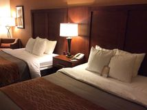 Cozy hotel room Stock Photography