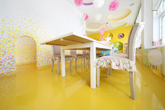 Cozy Kids Room in cafe Anderson Stock Photo